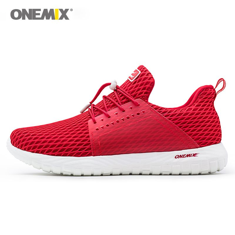 ONEMIX 2018 men running shoes women sneakers soft Deodorant insoles durable rubber light slip-on outdoor cool jogging shoes