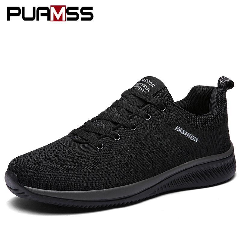Nouveau Mesh hommes chaussures décontractées lac-up hommes chaussures léger confortable respirant marche baskets Tenis masculino Zapatillas Hombre