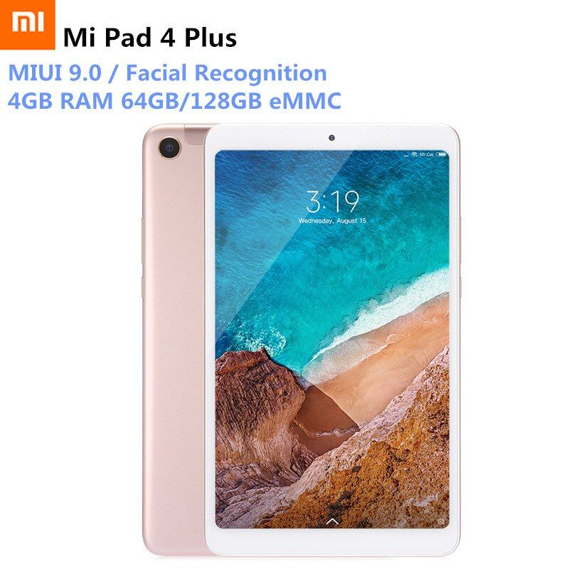 Xiao mi mi Pad 4 Plus 4G Phablet 10,1 ''mi UI 9,0 Snapdragon 660 64 GB/128 GB Gesichts Anerkennung 13MP Tablet PC LTE Version