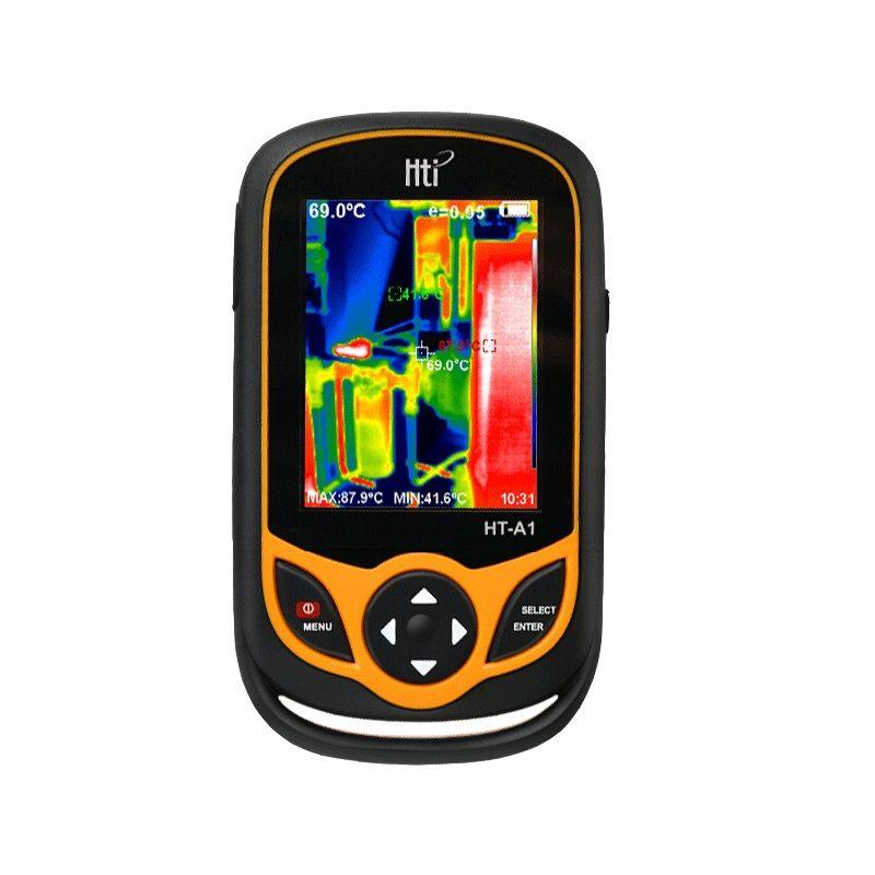 HT-A1 Tragbare Tasche Thermische Imaging Kamera von Moskau Versendet innerhalb von 48 stunden 3,2 zoll TFT display für Outdoor Jagd