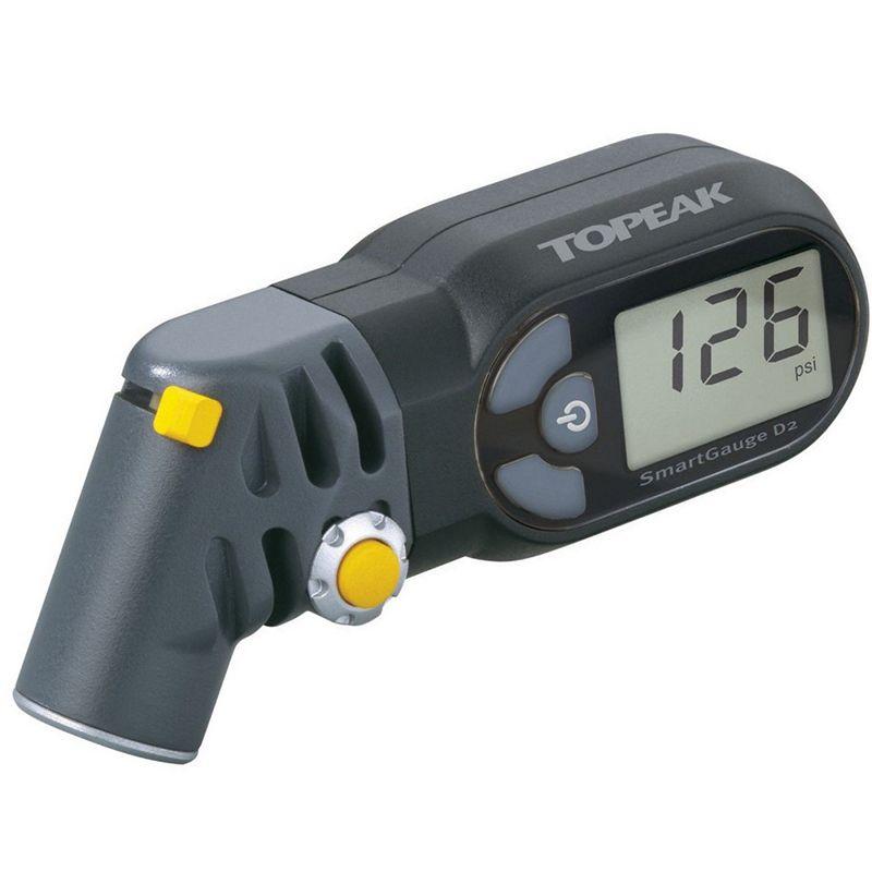 Topeak TSG-D2 digital SmartGauge   Presta/Schrader Electronic Tire Air Pressure Gauge/LCD display/rotating SmartHead