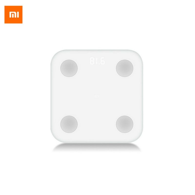 New Original Xiaomi Mi Smart Body Fat Scale With Mifit APP & Body Composition Monitor With Hidden LED Display And Big Feet Pad