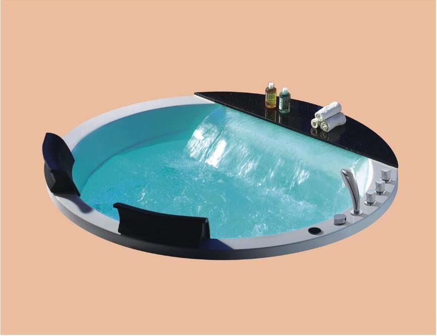 1700mm Drop-in whirlpool Schwimmbad Badewanne Acryl Hydromassage Eingebettet Surfen SPA NS3162A