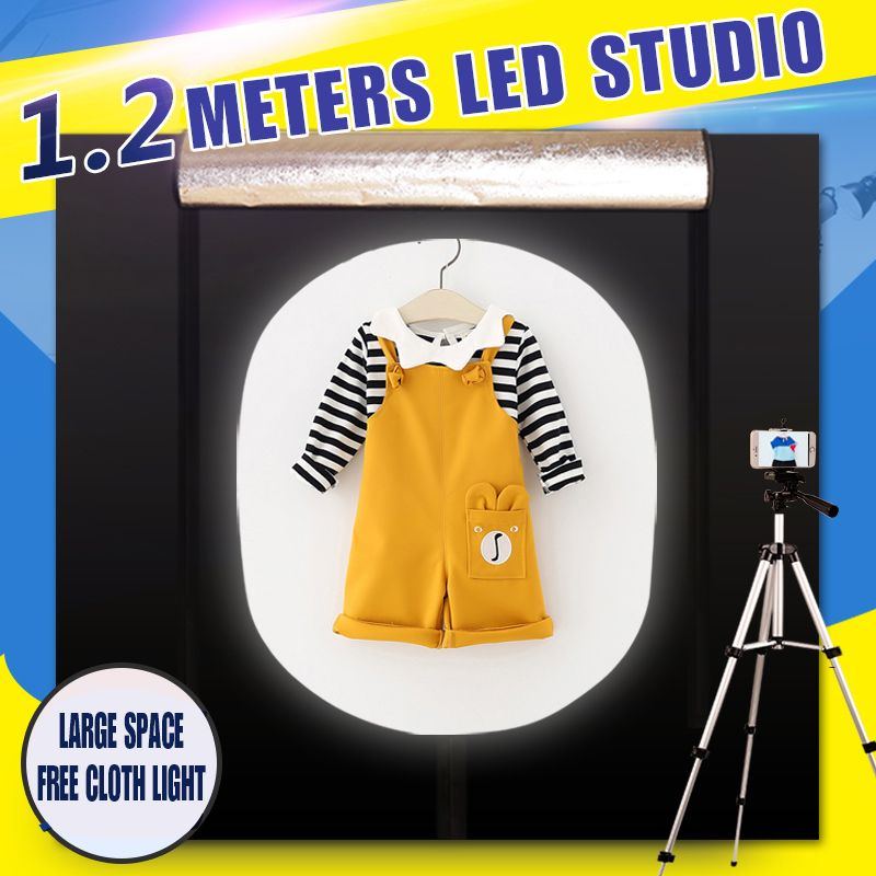 CY 120*100*120CM Portable Photography Soft box Photo Studio Lightbox Light box +dimmer switch Children's clothing shoting tent