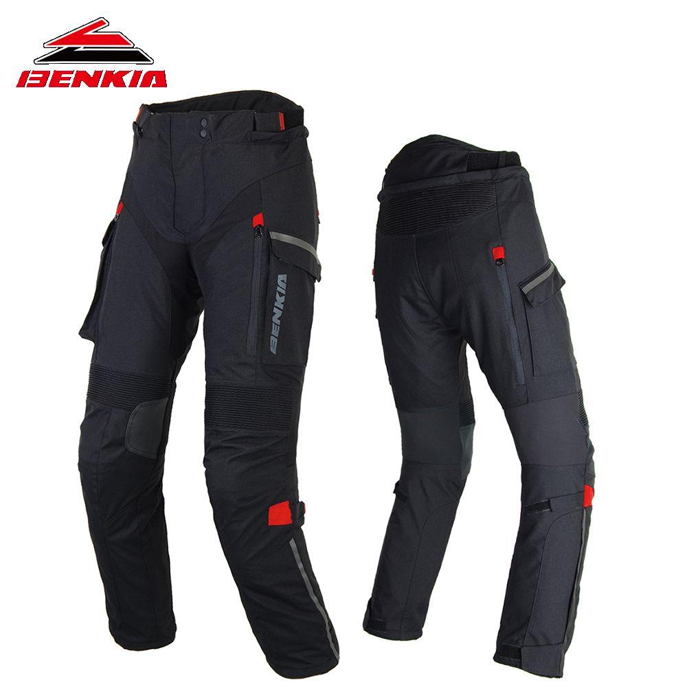 BENKIA Motorcycle Pants Women's Racing Trousers Winter Riding Rally Racing Pants Moto Pantalones Female Motocross Pants PW-W47