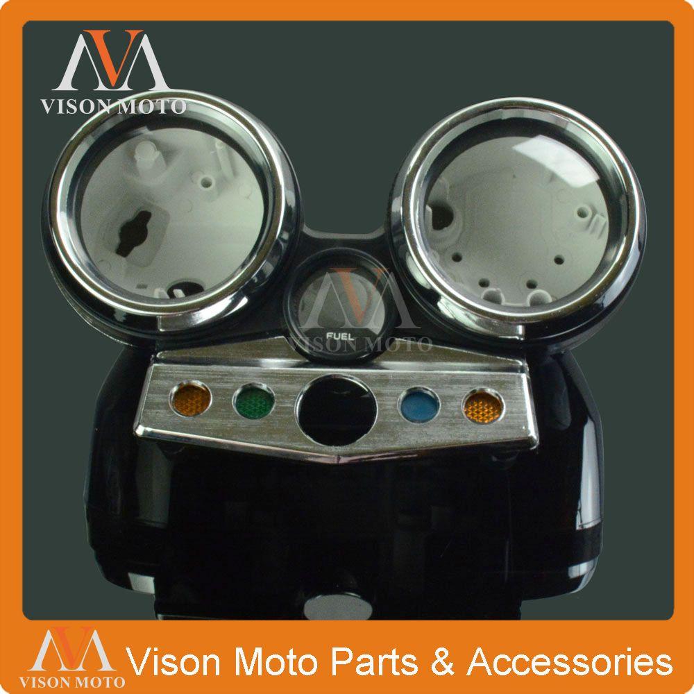 Speed Meter Clock Instrument Case Gauges Odometer Tachometer Housing Box Cover For HONDA CB400 1995 1996 1997 1998