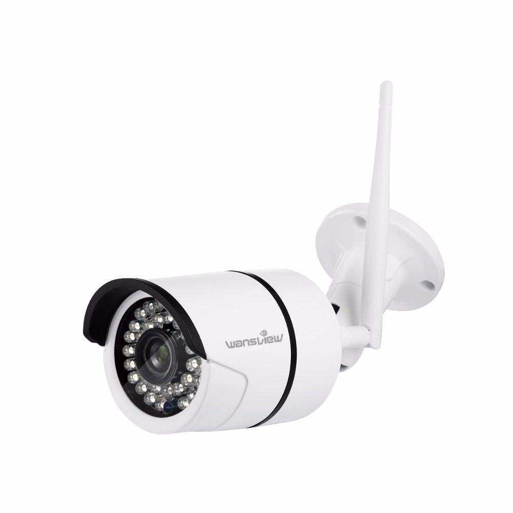 Wansview W2 Outdoor 2.0mp 30fps HD 1080P WiFi Wireless IP Security Bullet Surveillance Camera IP66 Waterproof onvif Night Vision