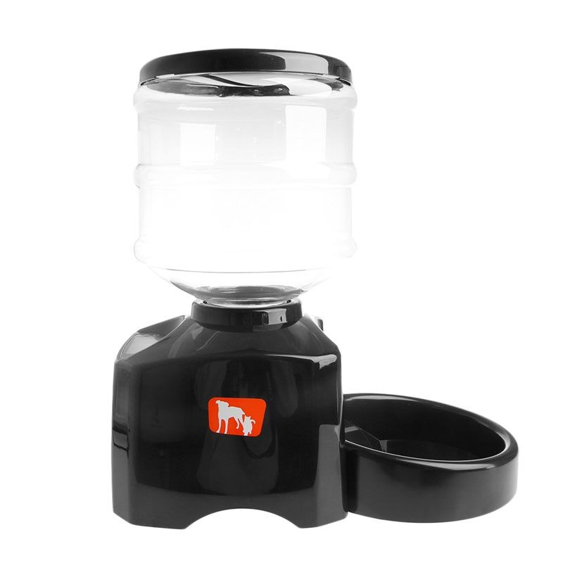 5.5L Automatic Pet Feeder Dry Food Dish Bowl Dispenser with LCD Display for Dog Cat Voice Recording