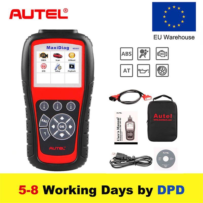 Autel MD805 OBD2 Scanner Alle System Auto Diagnose Werkzeug Code Leser für Öl Service Reset besser als Starten X431 ELM327 werkzeug