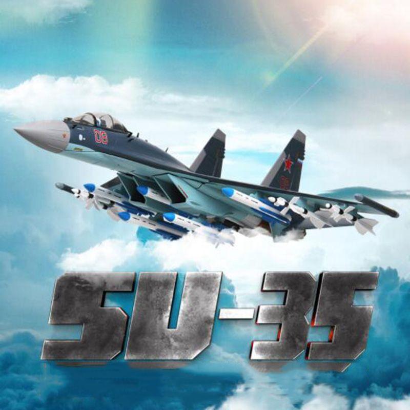 1/48 skala Sowjetunion Navy Armee Su35Su-35 kämpfer flugzeug Russland flugzeug modelle erwachsene kinder spielzeug f display sammlungen