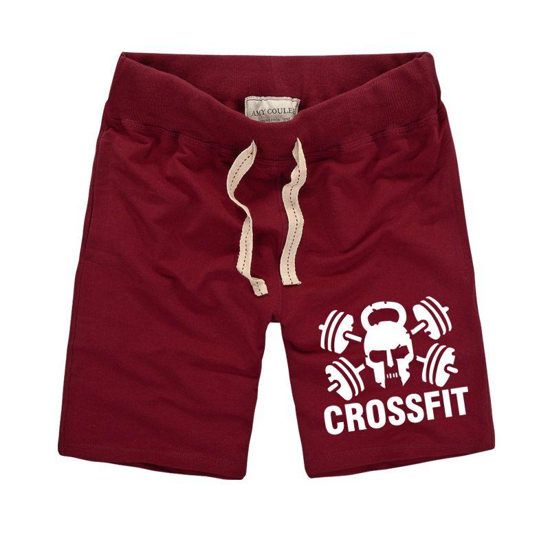 100% baumwolle Männer Kurze Hosen Casual Wadenlangen Jogger Herren Shorts Jogginghose crossfit Fitness Mann Workout Short