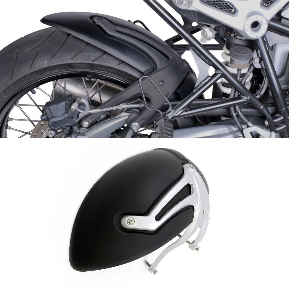 Motorrad Kotflügel hinten Kotflügel Für BMW R ninet 2014 2015 2016 2017 Reifen Hugger Fender Schwarz Silber Für BMW R NEUN T R9T R 9 t