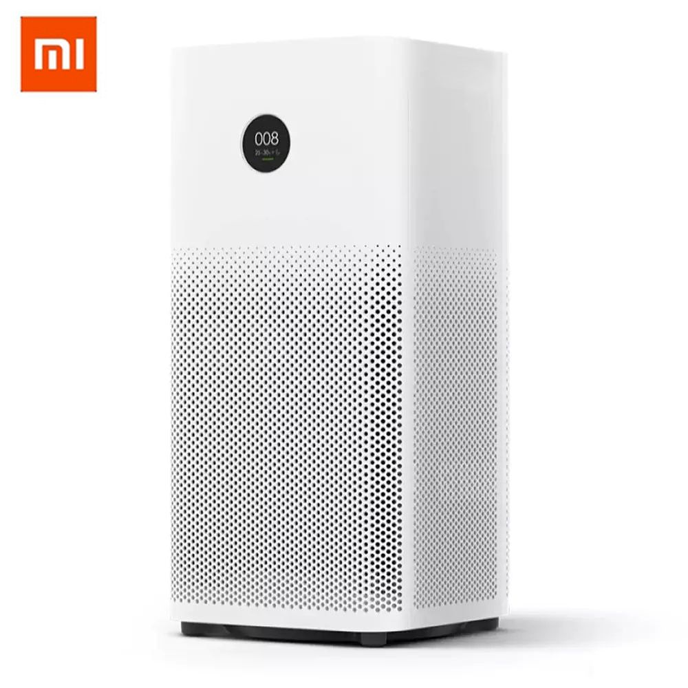 Xiaomi Mijia Original Air Purifier 2S OLED Display Smart Sterilizer Household Smell Cleaner 3-layered Filter APP WIFI Control