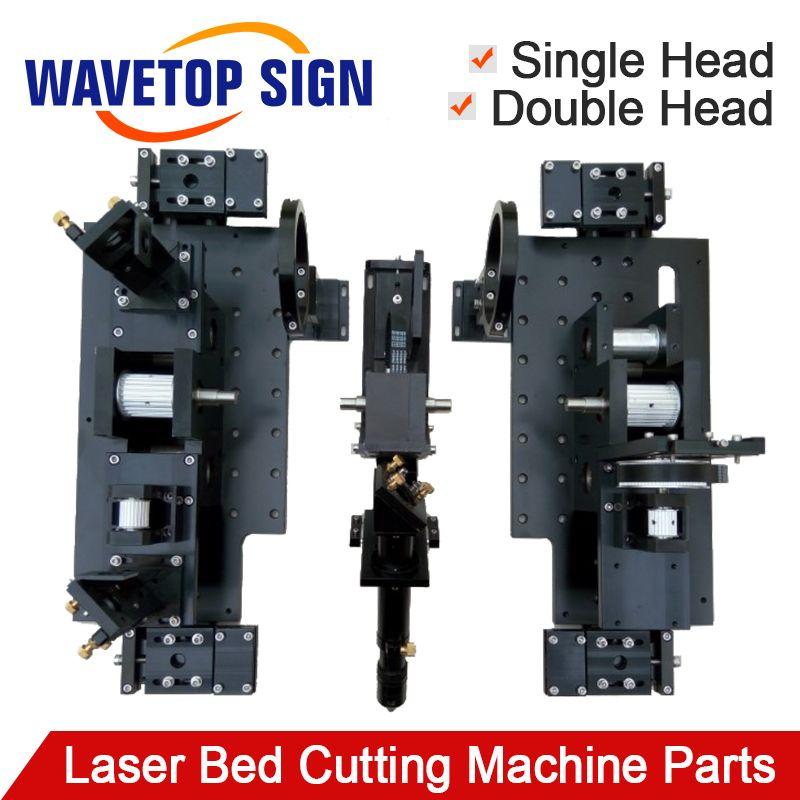 Doppel Kopf Laser Bett Schneiden Maschine Mechanische Teil für Laser Schneiden und Gravieren Maschine 1318 1325 1518 1525 1820 1825 2030
