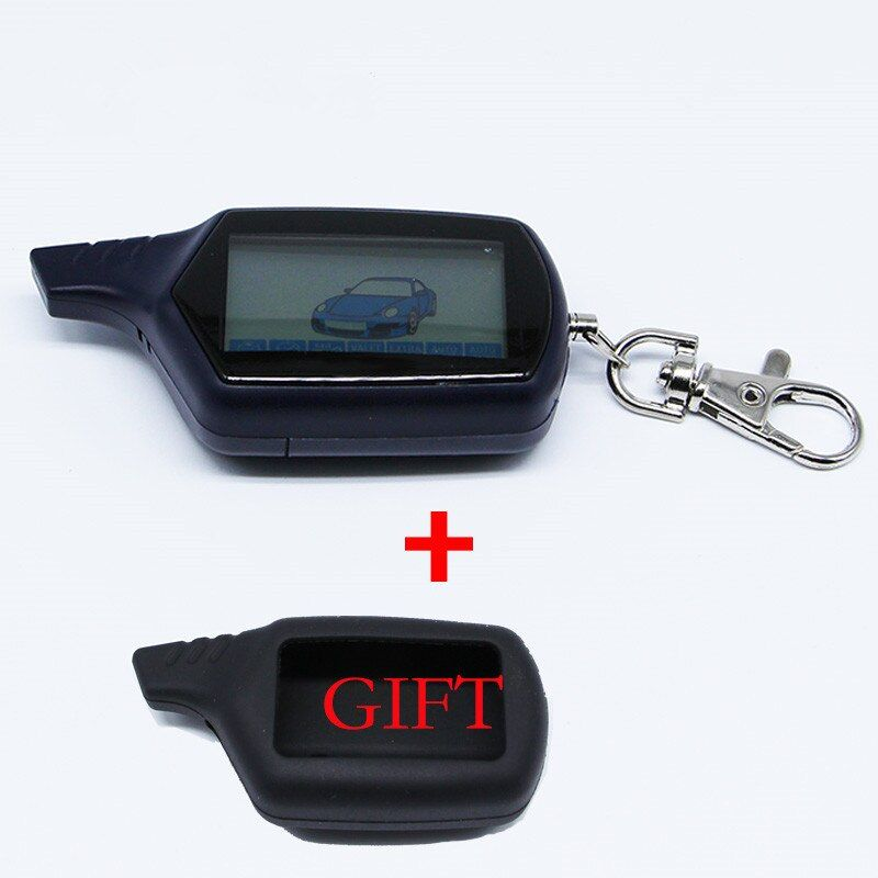 New hot sale starline B9 Twage remote for B9 lcd remote two way car alarm system/FM transmitter