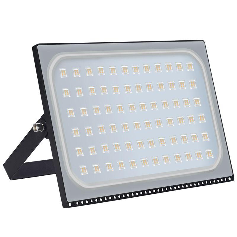HUAN JUN SHI 1Pcs Ultrathin LED Flood Light 500W LED Floodlight 220V 500 watt LED Spotlight Outdoor Lighting IP67 Waterproof