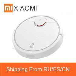 Оригинальный Xiaomi Mi робот пылесос для дома автоматический для уборки пыли стерилизовать Смарт планируемый мобильный приложение дистанцион...