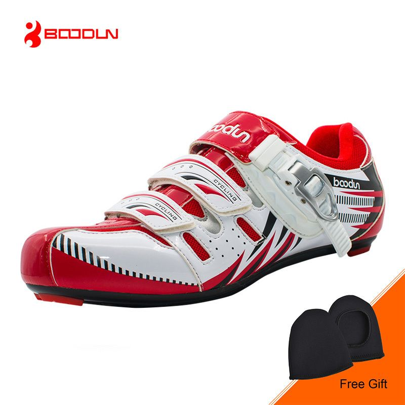 BOODUN New Professional Bicycle Shoes Breathable Road Shoes Self-locking Ultralight Bike Shoes Cycling Shoes Sapatos de ciclismo