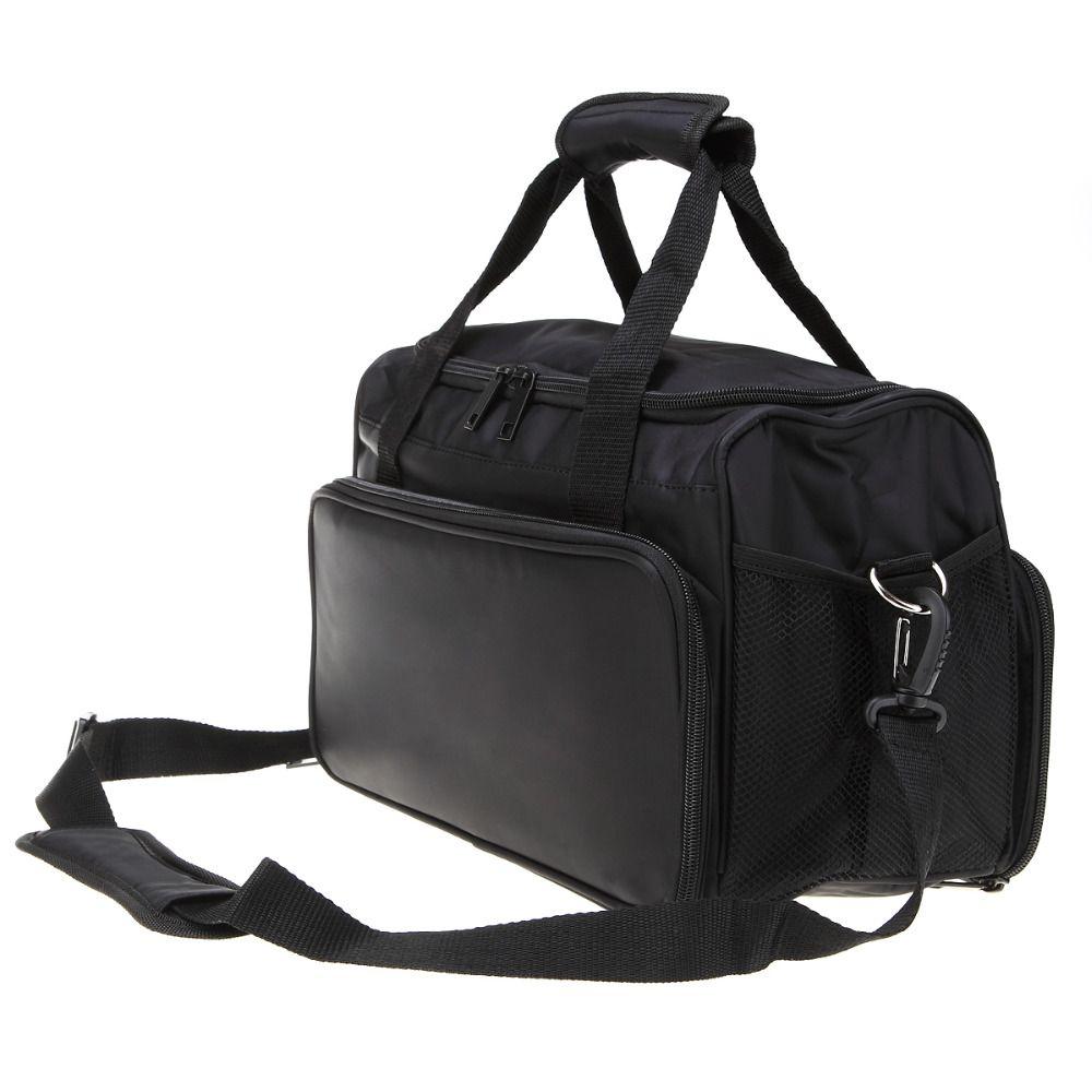 1Pcs Salon Hair Handbag Canvas Messenger Bag Comb Scissors Clip Hairdressing Portable Case Hair Styling Tools Storage Toolkit