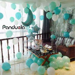 Воздушные латексные воздушные шары украшения для дня рождения Детские воздушные шары babyshower мини-шар пол раскрывает вечерние украшения 50 ле...