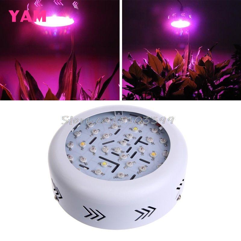 360W AC 85-265V 36 LED UFO LED Wachsen Licht Gesamte Spektrum Hydro Blume Pflanze G08 Drop schiff