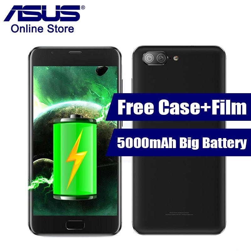 2017 ASUS Zenfone 4 Max Plus ZC550TL X015D 5000mAh Battery 5.5 Inch Octa Core Mobile Phone Android 7.0 MT6750 Dual Back Cameras