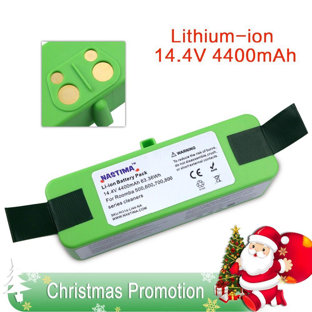 4400mAh Li-ion Battery Compatible with iRobot Roomba R3 500 600 700 800 900 Series 500 550 560 620 650 660 760 770 780 870 900