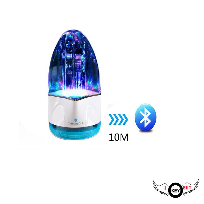 1PC Fountain Card Bluetooth Water Dance Speaker Radio Stereo MP3 MP4 Car TV Computer Games Console With Bluetooth Device