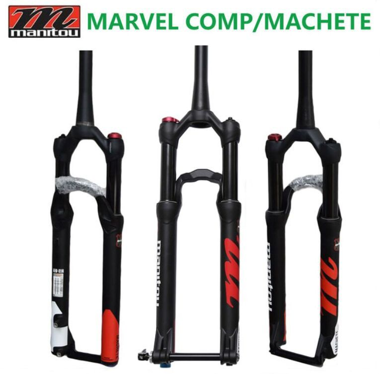 Manitou Original Bike Fork Marvel Comp Machete size 27.5 29er Mountain MTB Bicycle Fork Suntour suspension ciclismo acessorios