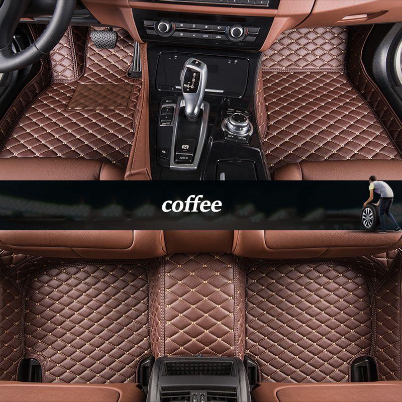 kalaisike Custom car floor mats For Lexus All Models ES IS-C IS LS RX NX GS CT GX LX570 RX350 LX RC RX300 LX470 car styling