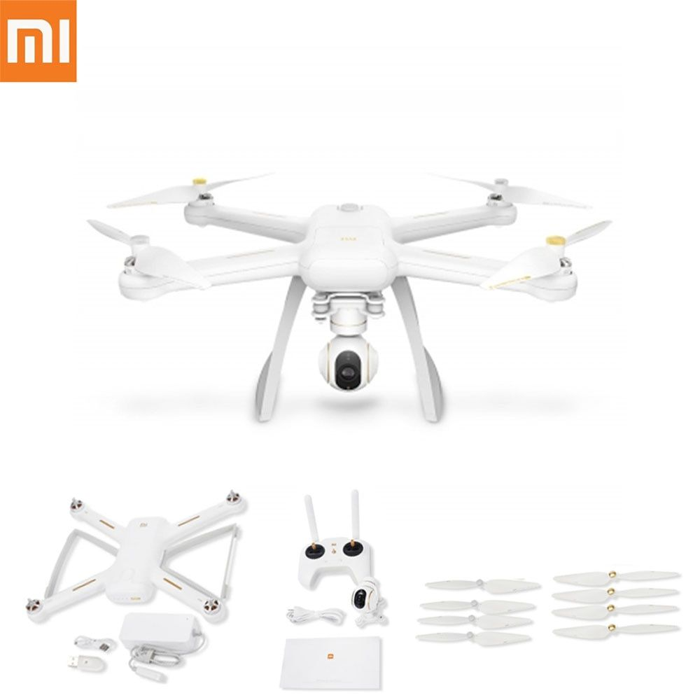 Original XIAOMI Mi Drone 4K HD GLONASS GPS WIFI FPV Quadcopter RC Quadcopters Pointing Flight Optical Flow Sensor Sonar Dron