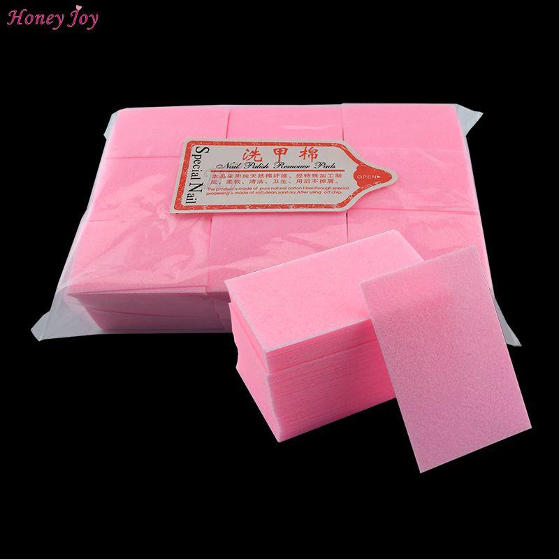 122 gram/sac épais solide Durable Gel dissolvant de vernis à ongles non pelucheux lingettes tampon de coton outils d'art des ongles bain manucure accessoires rose