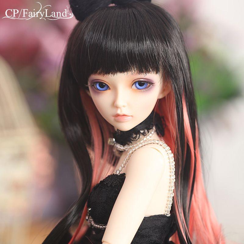 Free Shipping Minifee Celine BJD Dolls 1/4 Fashion Flexible Resin Figure Female Fairies Fullset Toy For Children Fairyland