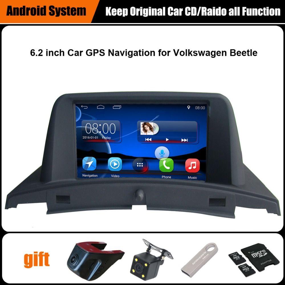 Upgraded Original Car Radio Player Suit to Volkswagen VW Beetle GPS Navigation Car Video Player WiFi Bluetooth