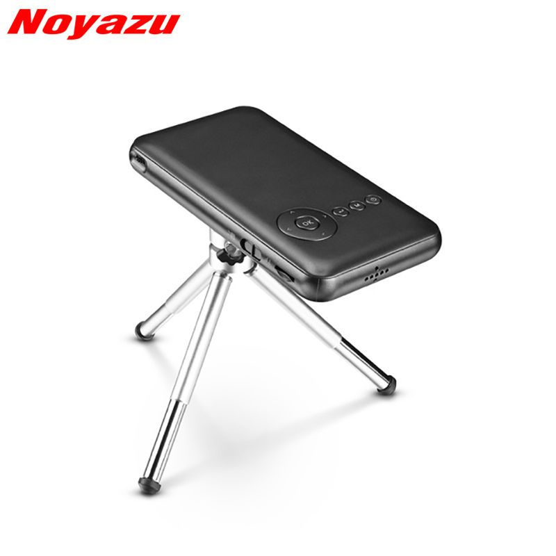 Noyazu 5000mAh Mini Pocket Projector WiFi Bluetooth DLP Full HD Digital Portable Handheld Smartphone Home Theater Projetor