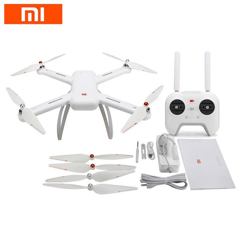 Auf Lager Original Xiaomi Mi Drone WIFI FPV RC Quadcopter w/1080 p 4 karat Version 30fps HD Kamera 3-achsen Gimbal GPS App RC Drone RTF