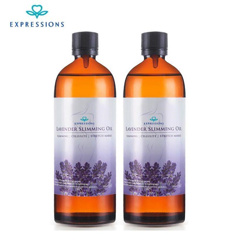 2 pièces australie effet puissant perdre du poids huiles essentielles mince taille de la jambe combustion des graisses naturel sécurité minceur huile de Massage