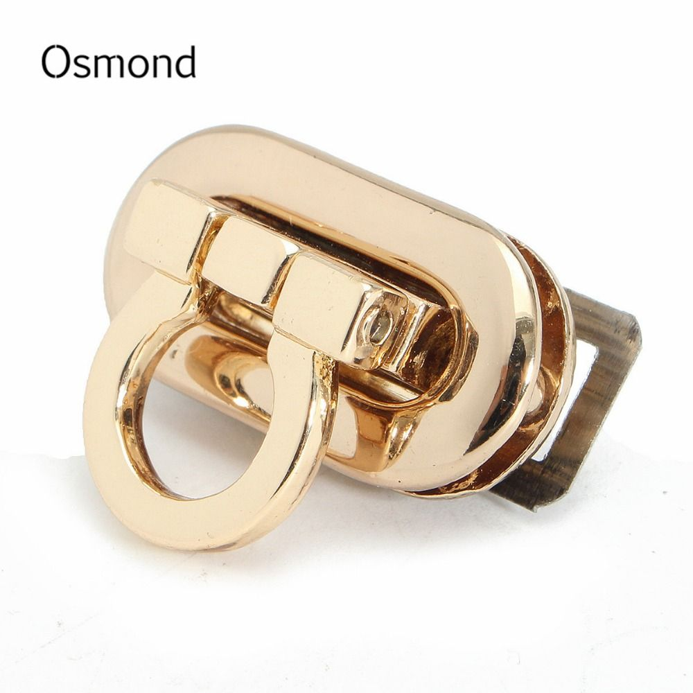 Osmond 2017 Fashion Women Alloy Handbag Bag Accessories Buckle Twist Turn Lock Snap Clasps Closure for Purse Handbag Bag