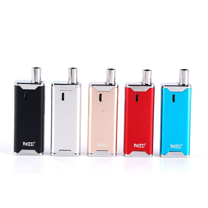 100% Original Yocan Hive 2,0 VV AIO Kit 650 mAh Batterie einfache E Cigarett Einstellbare Spannung Elektronische Zigarette Hive 2 AIO Kit