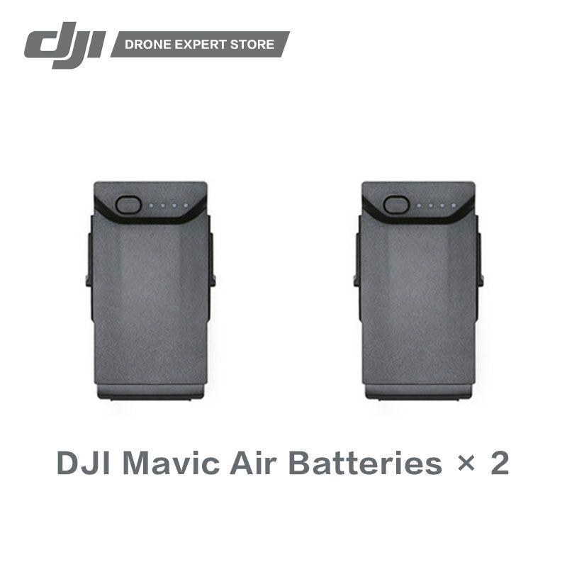 2PCS/SET DJI Original Mavic Air Intelligent Flight Battery High-Density Lithium Offering Flight Time of up to 21 Minutes