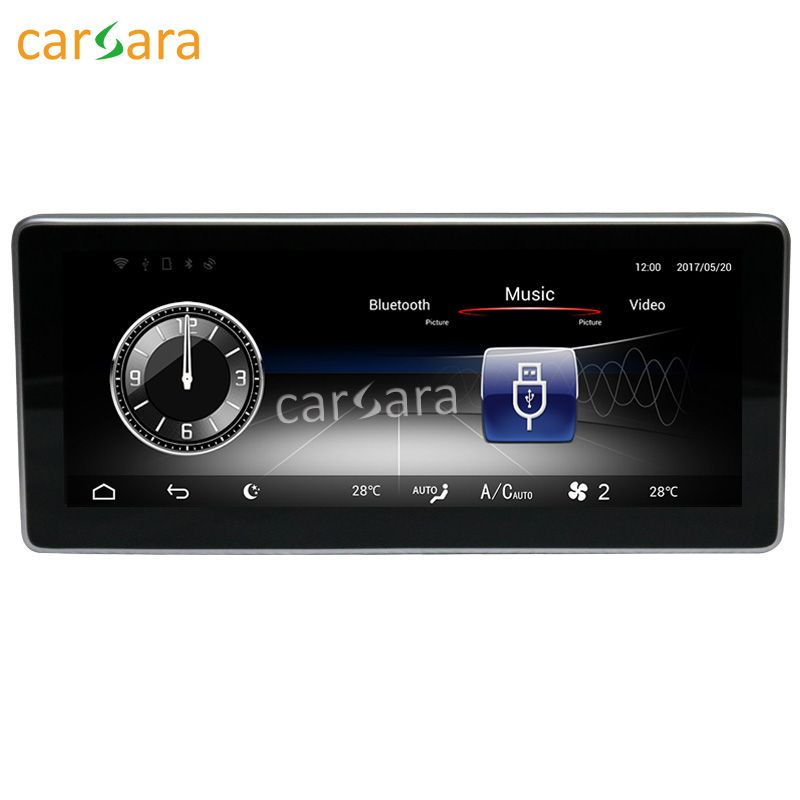 carsara Android display for Benz CLA/GLA/A Class W176 16-17 10.25