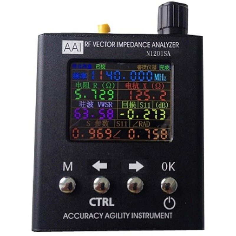 140 MHz-2,7 GHz N1201SA UV RF Vector Impedanz ANT SWR Antennenanalysator Meter Tester