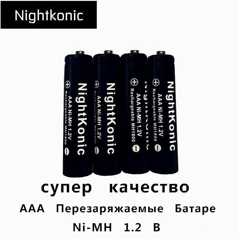 Batterie Rechargeable originale de haute qualité AAA MH 1.2V NI-MH 3A aaa marque d'origine nocturne