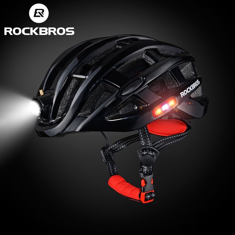 ROCKBROS Light Cycling Helmet Bike Ultralight helmet Intergrally-molded Mountain Road Bicycle MTB Helmet Safe Men Women 57-62cm
