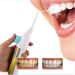 Portable Power Floss Dental Water Jet Cords diente Pick tirantes sin baterías práctico agua flosser irrigador dental #51905