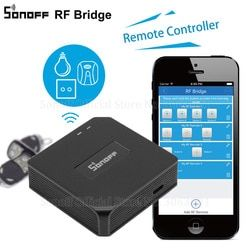 Sonoff RF Pont WiFi 433 MHz Remplacement Smart Domotique Commutateur Universel Intelligente Domotica Wi-Fi À Distance RF Contrôleur