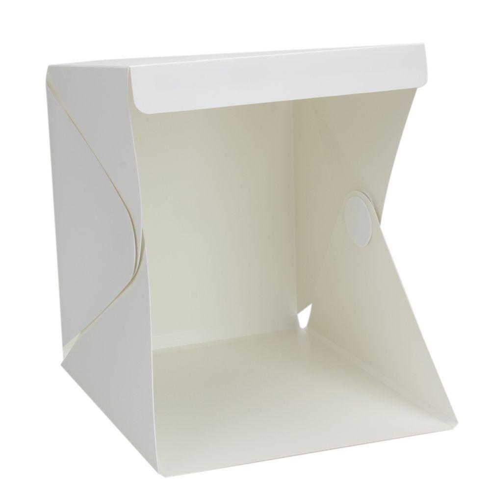 Portable softbox Mini boîte photos Lightbox led Photo Studio lampe pliable boîte Salle de boîte lumineuse de Photographie Softbox kit de tente