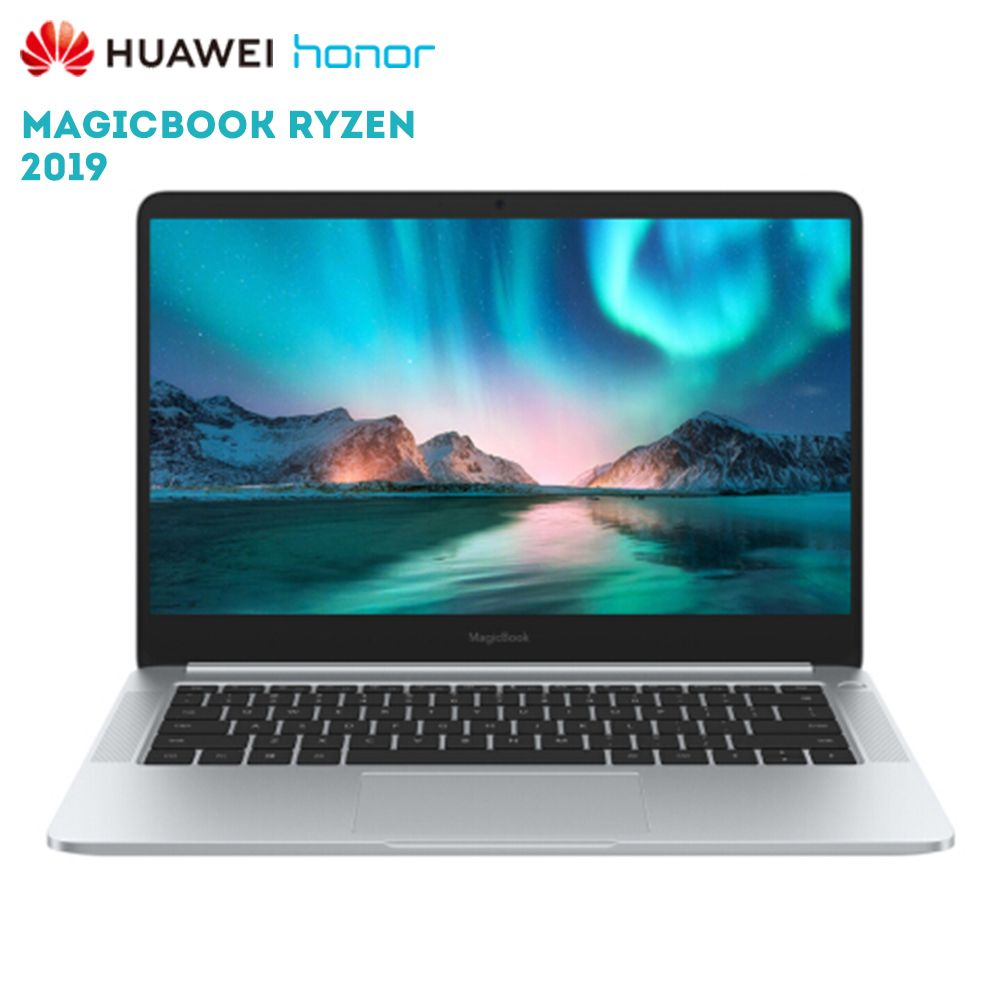 Original Huawei Honor MagicBook 2019 14 zoll Laptop Windows 10 AMD Ryzen 5 3500U 8 GB 256 GB PCIe NVMe SSD radeon Vega 8 PC