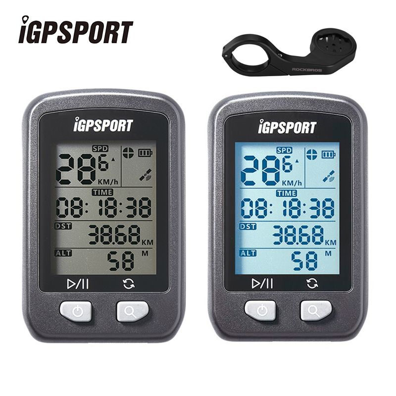 IGPSPORT GPS Computer Waterproof IPX6 Wireless Speedometer Bicycle Digital Stopwatch Cycling Speedometer Bike Sports Computer