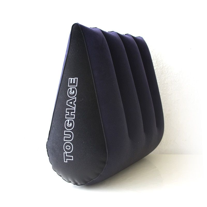 Toughage Inflatable Sex Furniture Triangle Sex Pillow Erotic Wedge Sex Cushion Oreiller Sofa Adult Games Sex Toys For <font><b>Couples</b></font>